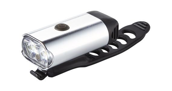 Lezyne Micro Drive 400 XL Lampka rowerowa przednia srebrny